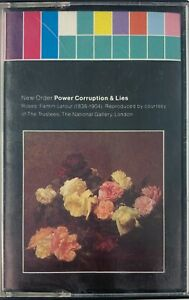 New-Order-Power-Corruption-amp-Lies-Cassette-Tape-1986-VGC-Sent-Tracked