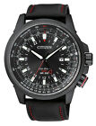 Citizen Eco-Drive Promaster Air GMT Mens Leather Watch. Look Good. BJ7075-02E