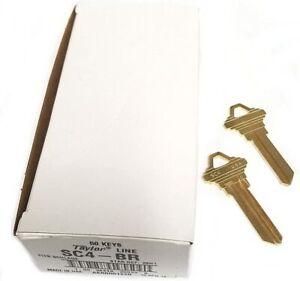 Taylor SC4 Brass Key Blanks
