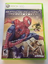 Spiderman Friend or Foe - Xbox 360 - Replacement Case - No Game