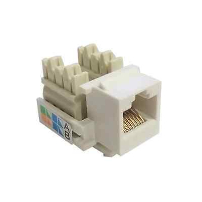 5x RJ45 CAT5e Keystone Jack Ethernet Network Module Wall End Plug Connector