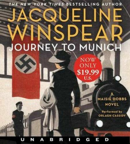 Journey to Munich (Maisie Dobbs Mysteries) [Audio] by Jacqueline Winspear #P341