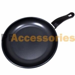Details About 9 5 Inch Non Stick Ceramic Coated Frying Pan Dishwasher Safe Cookware Black