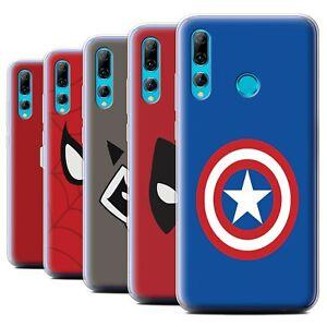 Gel-TPU-Case-for-Huawei-P-Smart-2019-Honor-20-Lite-Super-Hero-Comic-Art