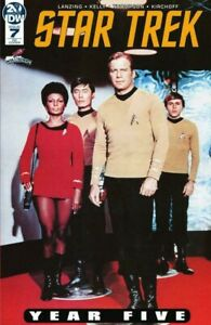 Star-Trek-Year-5-7-GALAXYCON-PHOTO-VARIANT-NM-in-HAND-SOLD-OUT-NM