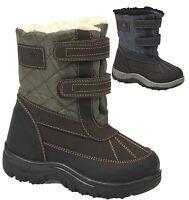 Boys Kids  Casual Winter Mucker Wellington Warm Fur Snow Ankle Boots Shoes Size
