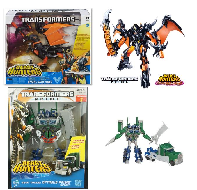 Transformers Beast Hunters Prime Weaponizer/Fire Breath PROTaking - Brand New