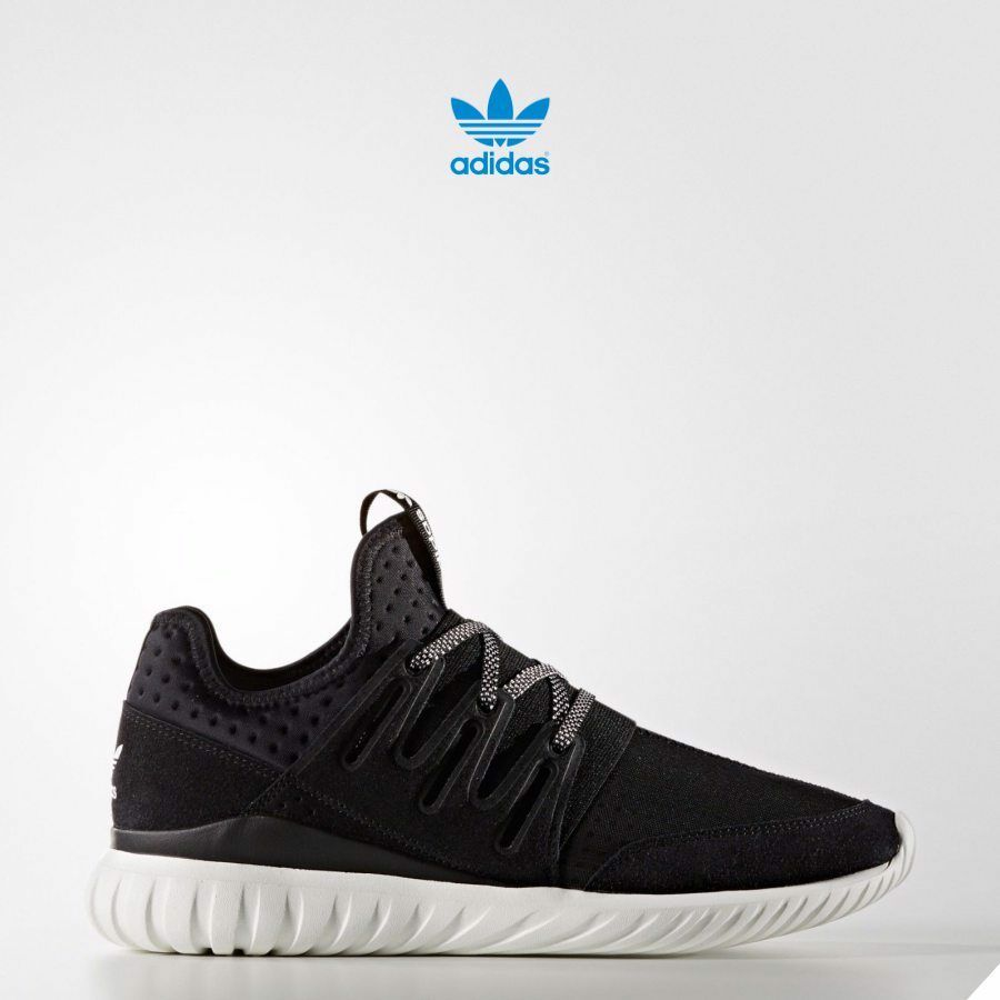 Adidas Originals Tubular Radial shoes Runner Athletic Black S80114 SZ 4-13
