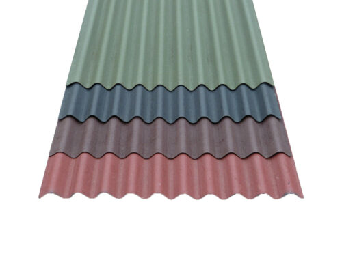 950 x 2000mm Bitumen roofing sheet Red Coroline Roofing Sheet 2.6mm Cheap!