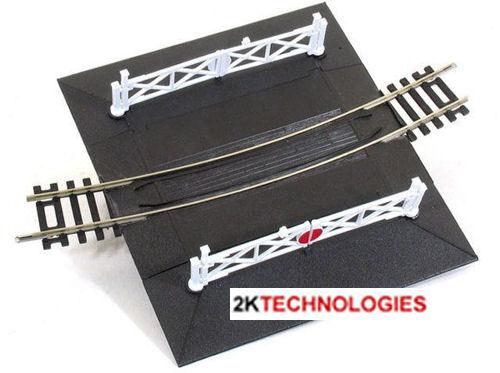 PECO ST-261 Curved 2nd Rad Single Track Level Crossing Gates /'00/' Gauge 1st Post