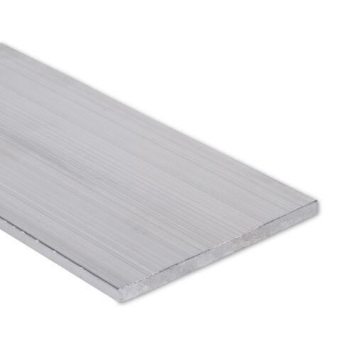 """1//4/"""" x 3/"""" Aluminum Flat Bar 6061 Plate T6511 Mill Stock 0.25/"""" 48/"""" Length"""