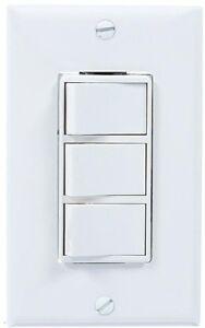Bathroom Wall Control Heater Light Fan Switch 3-Rocker 4 ...