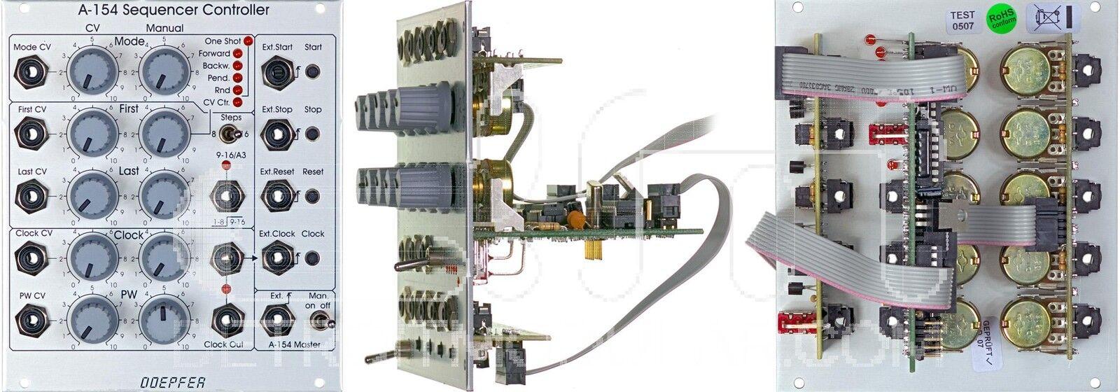 Doepfer A-154 Sequencer Controller   Eurorack Module   NEW