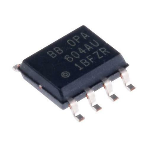 1 x Texas Instruments OPA2604AU Precision Op Amp 8-Pin SOIC 20MHz