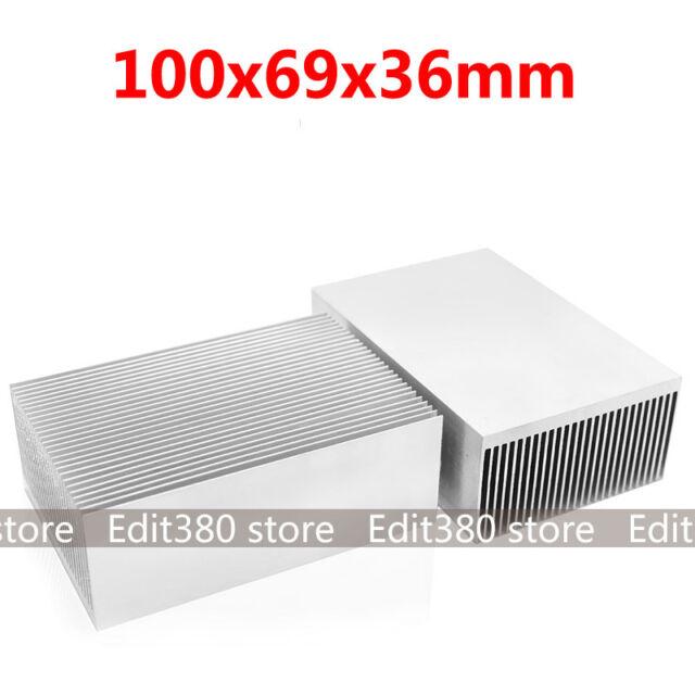 large big aluminum heatsink heat sink radiator for led high power amplifier amp for sale online. Black Bedroom Furniture Sets. Home Design Ideas
