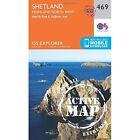 Shetland - Mainland North West by Ordnance Survey (Sheet map, folded, 2015)