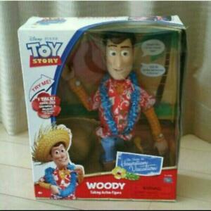 TAKARA-TOMY-TOY-STORY-Woody-Toys-R-Us-Limited-Talking-Action-Figure-Hawaii-ver