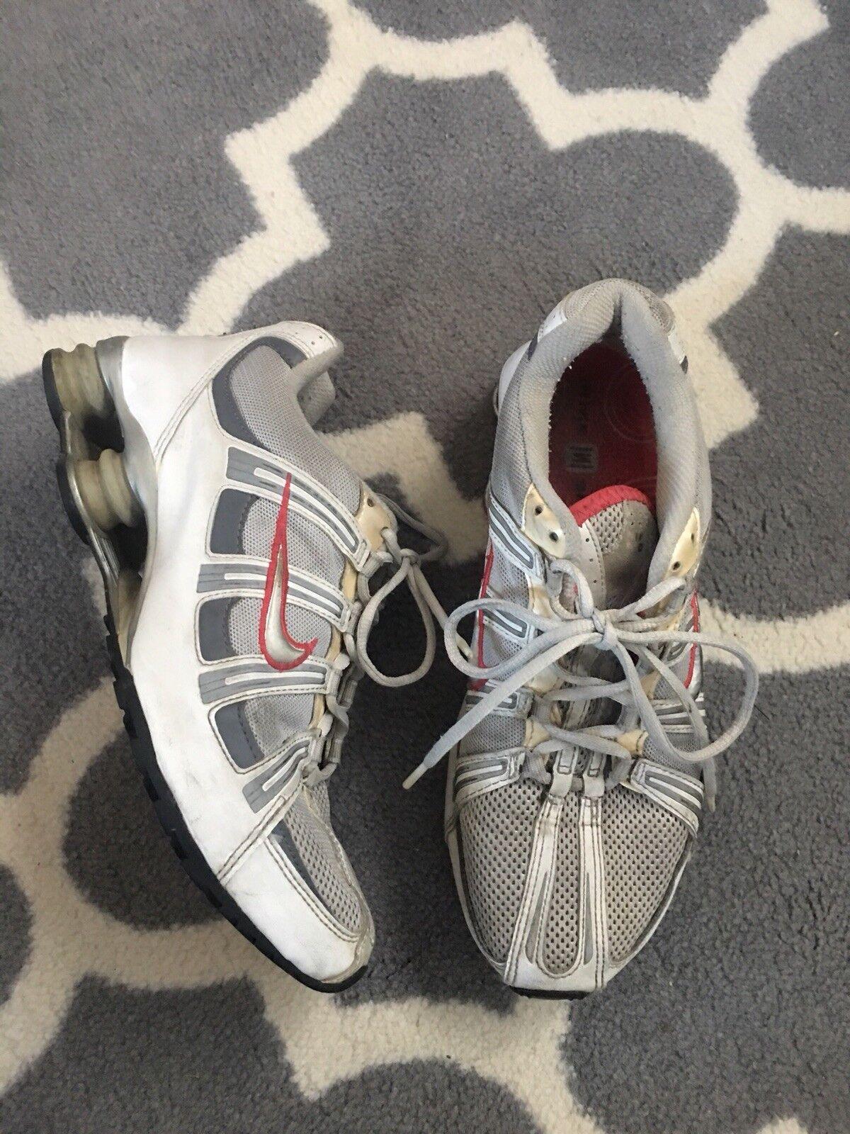 Nike Shox Women Size 10 Hot Pink White Gray 2004