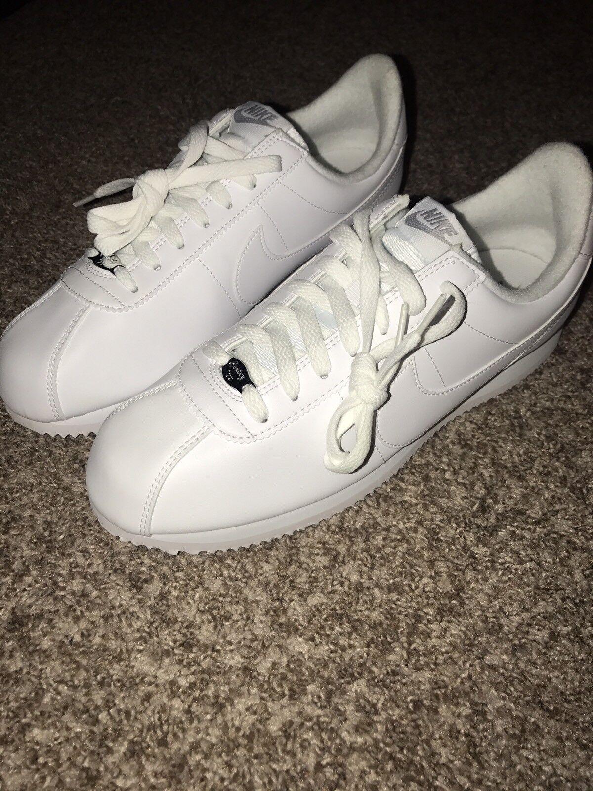 c44d14742 Nike Men s Men s Men s Classic Cortez White Gray Grey Sneaker Shoe US Size  10 819719-110 ef2102