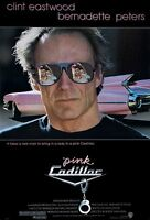 Pink Cadillac (1989) Original Movie Poster - Rolled