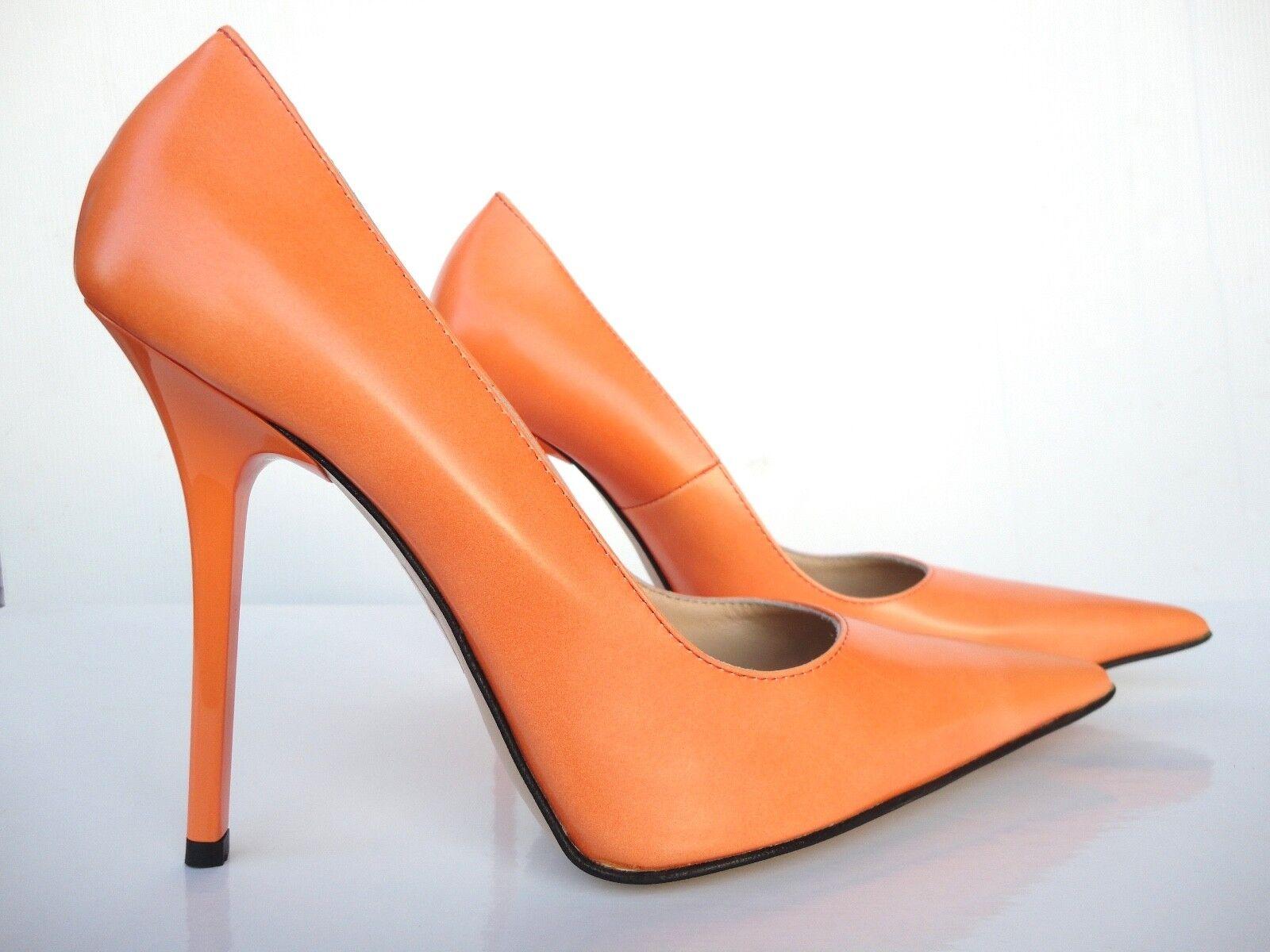 Schuhe orange pumps