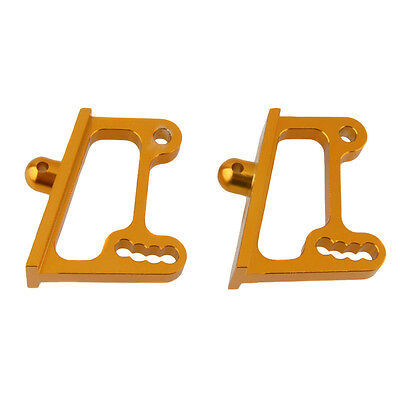 HSP 106045 Gold Aluminum Wing Adjustable Mount For RC 1:10 Off Road Buggy