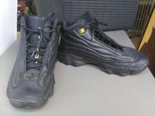 Black Air Jordan Nike shoes