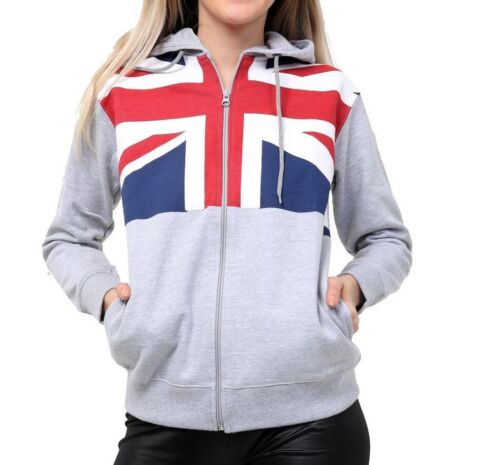 Girls  Boys kids Hoodies Fleece Jumper Tracksuit Cardigan tops Sports union jack