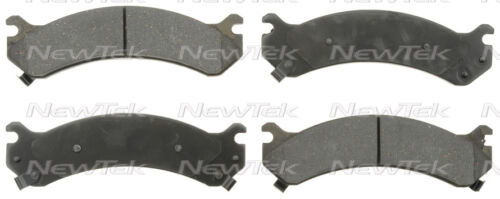 SCD784H FRONT Ceramic Brake Pads Fits  03-16 Chevrolet Express 3500W//Hardware