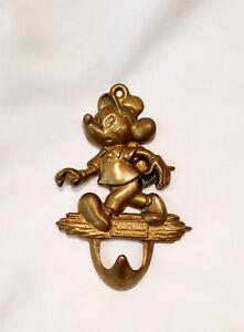 Mickey-Mouse-Design-Messing-Kleiderhaken-Haken-Garderobe-Disney-Bad-Donald-Duck
