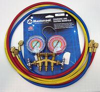 59161 Mastercool A/c Hvac Refrigeration Manifold W 60 Hoses R410a R404a R22