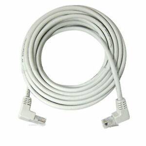 2m 6ft Right Angle 90 Degree Cat5e Utp Lan Cable 10