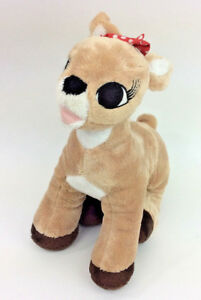 Rudolph-the-Red-Nosed-Reindeer-Clarice-Girlfriend-Plush-Stuffed-Animal-9-034