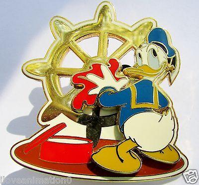 Disney DCL Sprucing Up The Ship Sailor Donald Duck Pin