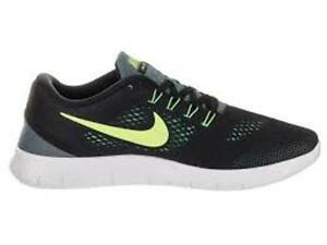 Nike-Free-RN-Negro-Amarillo-Gris-Gimnasio-Run-Negro-Amarillo-Gris-831508-006-Size-UK-9-5