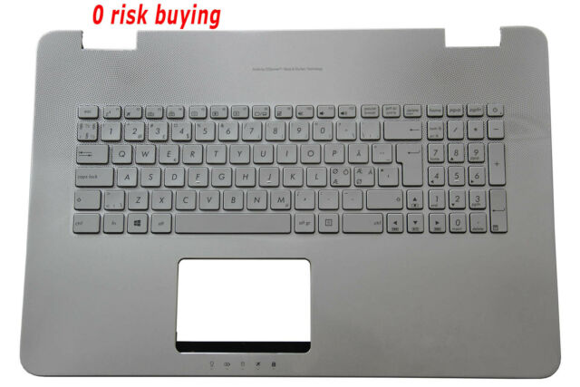 New for Asus N751 N751J N751JM US black Backlit Keyboard C Cover Palmrest