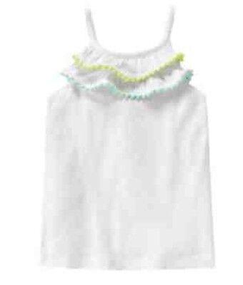 New Gymboree Safari Twirl Pink Blue Stripe Tank Top Shirt NWT Size 5