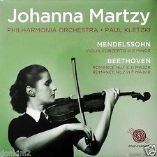 JOHANNA MARTZY - 2LP / Mendelssohn-Beethoven Concertos / COUP d'ARCHET COUP 023