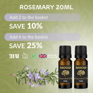 Essential-Oil-Pure-Oils-20ml-Natural-Aromatherapy-Rosemary-Organic-Fragrances