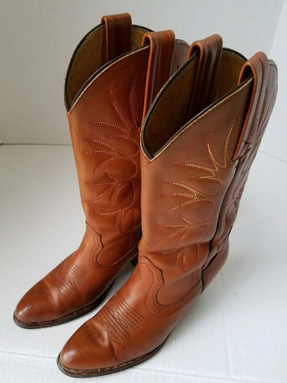 Frye Genuine Leder Damenschuhe Cowboy Stiefel Größe 7.5 B
