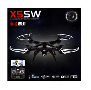 Syma X5SW Wifi FPV Real-time 2.4GHz RC Quadcopter Drone UAV RTF UFO with 2MP Cam