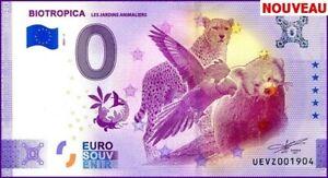 UE VZ-1 / BIOTROPICA / BILLET SOUVENIR 0 € / 0 € BANKNOTE / 2021-1
