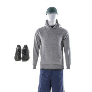 The-Lovebirds-Steve-Moses-Storm-Screen-Worn-Sweatshirt-Shirt-Shorts-amp-Shoes-Sc53