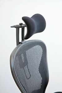 new atlas headrest ergonomically optimized for herman miller aeron