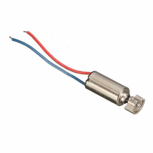10Pcs 4x8mm Micro Coreless High Speed Motor 1.5-3V Shaft Length 4mm