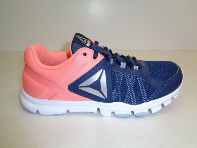 Reebok Sze 7.5 Yourflex Trainette 9.0 MT Navy Training SNEAKERS Womens Shoes