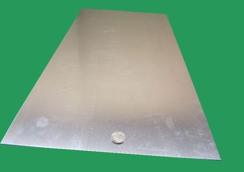 "Thick x 12/"" x 24/""  Length .063/"" 1//16/"" 3003 Aluminum Sheet 1//2 Hard"