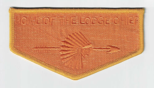 USA BOY SCOUTS OF AMERICA OA HOME OF THE LODGE CHIEF SCOUT FLAP GHOST PATCH