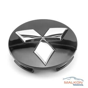 Black-Alloy-Wheel-Centre-Cap-for-Mitsubishi-Triton-Pajero-Outlander-4252A020