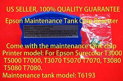 1 pc maintenance tank for EPSON Surecolor SC-T3000 T3080 T5000 T5080 T7000 T7080